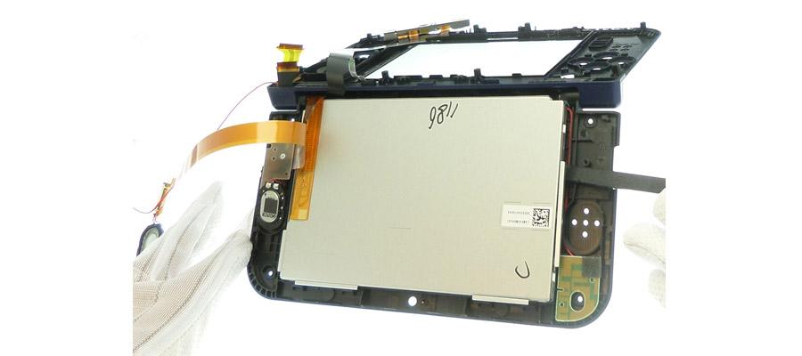 LCD d'une PSP FAT